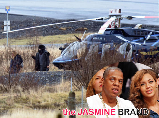 Beyonce Celebrates Jay Z's 45th Birthday in Iceland