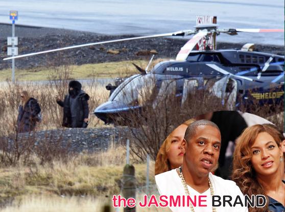 Beyonce-Celebrates Jay Z-45th Birthday Iceland-the jasmine brand