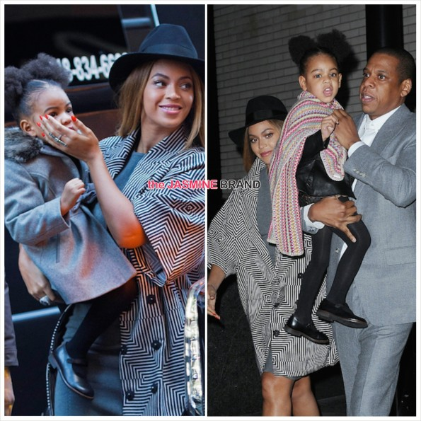 Beyonce-Jay Z-Blue Ivy-Annie Premiere-the jasmine brand