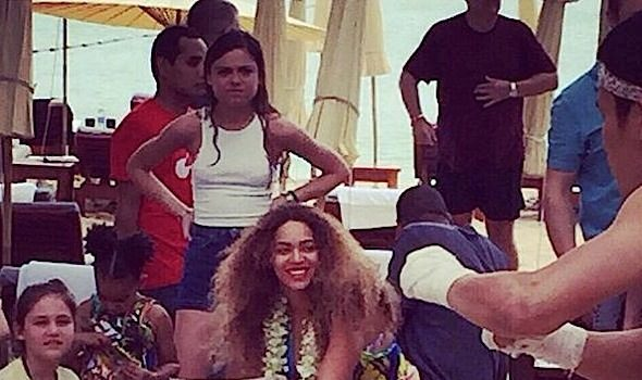 Beyoncé, Jay Z and Blue Ivy Spend Holidays In Thailand [Photos]