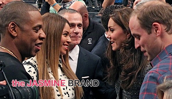 Royalty Meets Royalty: Beyoncé & Jay Z Greet Prince William & Duchess Kate [Photos]
