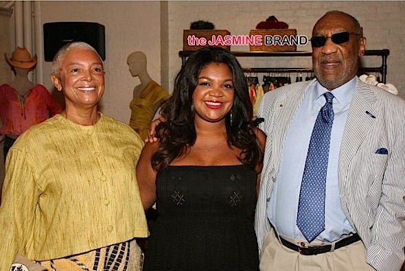 Bill Cosby's Daughter Speaks Out On Facebook: There will always be jealous, vengeful and crazy people out there to break anyone down.