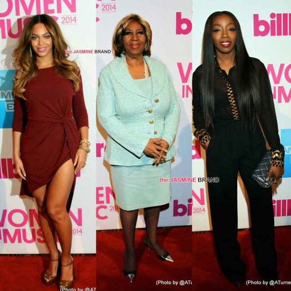 Billboard Women in Music-Beyonce-Aretha Franklin-Estelle-the jasmine brand