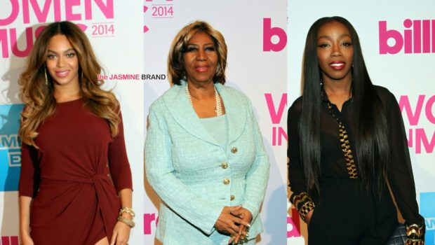 Billboard's Women In Music Red Carpet: Beyoncé, Estelle, Aretha Franklin, Taylor Swift, Iggy Azalea, Ariana Grande [Photos]