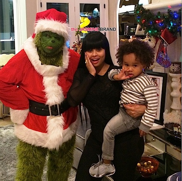 Blac Chyna-Celebrities Christmas-the jasmine brand