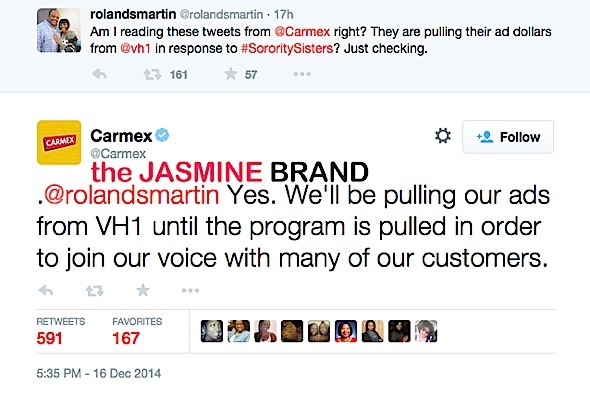 Carmex-Pulls Ads From VH1-Over Sorority Sisters-the jasmine brand