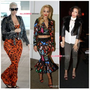 Amber Rose, Rita Ora, Bridget Kelly