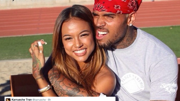 Chris Brown Announces Split With Girlfriend Karrueche Tran: F**k that b*tch! [VIDEO]