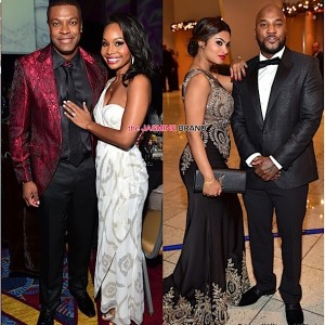 Chris Tucker-Cynee Simpson-Young Jeezy Girlfriend-UNCF Mayors Ball 2014-the jasmine brand
