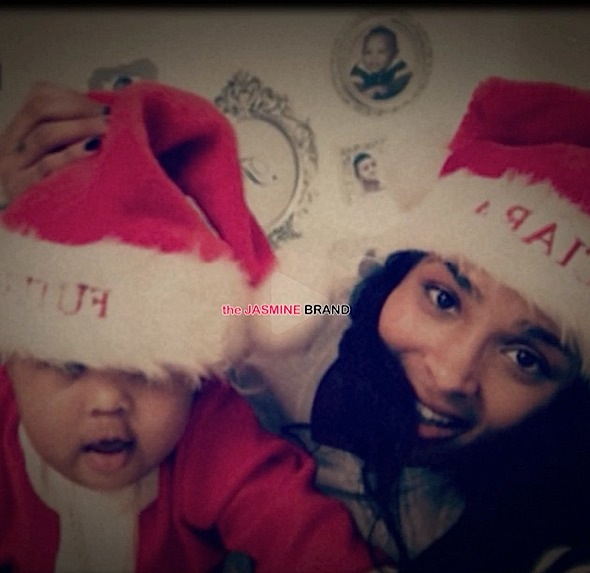 Ciara & Baby Future Play Santa [VIDEO]