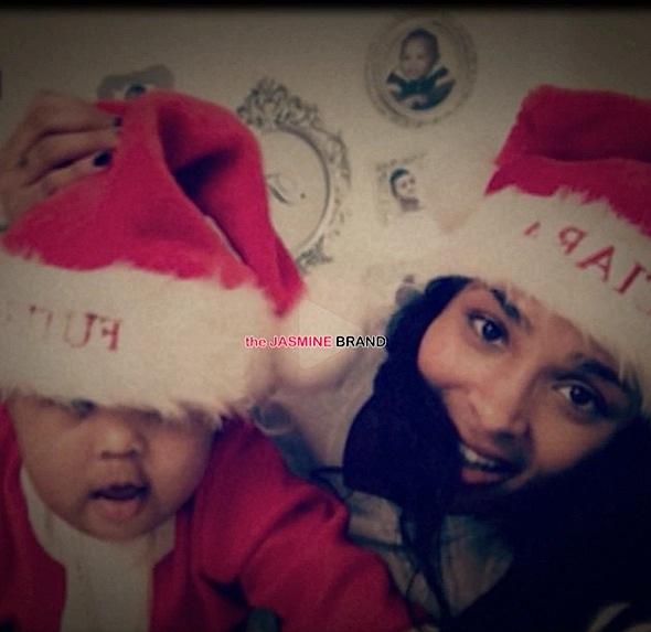 Ciara & Baby Future Play Santa [VIDEO]