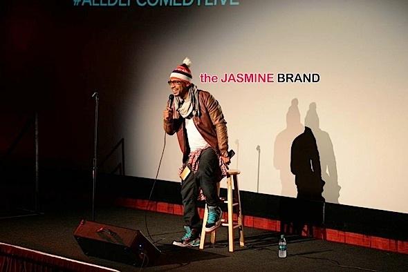 Columbus Short-All Def Comedy Live-the jasmine brand