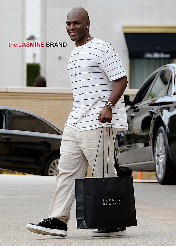 Corey Gamble goes on festive shopping spree at Barneys New York