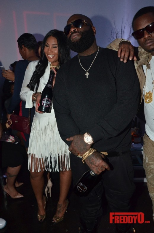 921c6adf7a8 Rick Ross Pops-Up For Girlfriend Ming Lee s Holiday Party  Photos ...