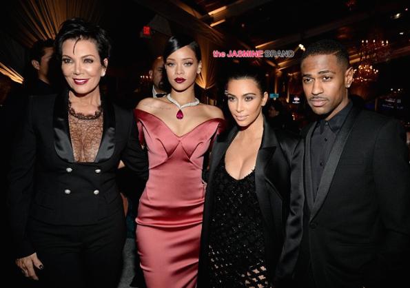 Kris Jenner, Rihanna, Kim Kardashian, Big Sean