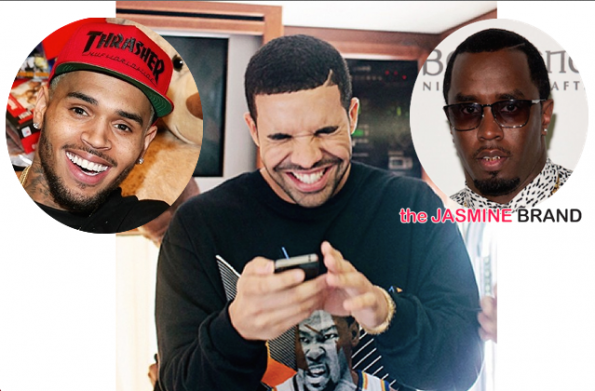 Drake-Subliminal Instagram Message-Beef With Chris Brown-Diddy-the jasmine brand