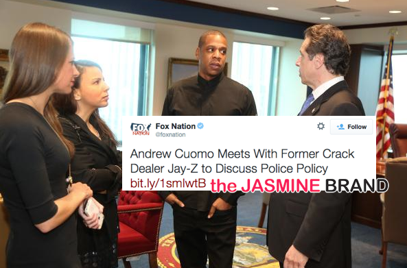 Fox Refers to Jay Z As 'Former Crack Dealer', Twitter Reacts