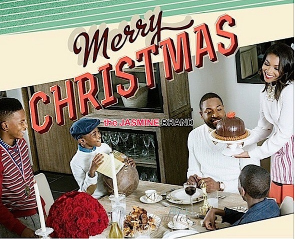 Gabrielle Union-D Wade-Christmas-the jasmine brand