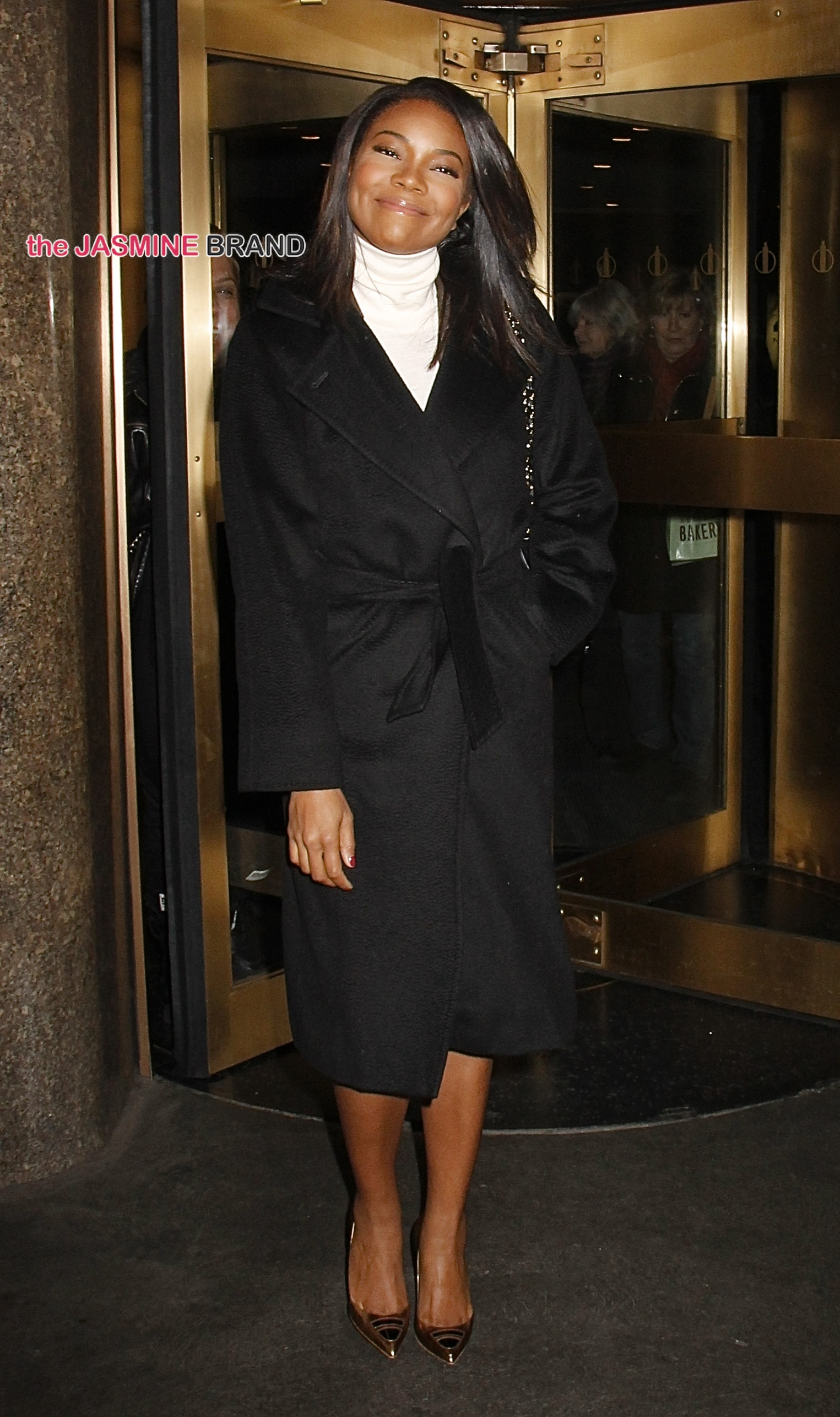 Gabrielle Union spotted leaving NBC Studios in NYC's Rockefeller Center