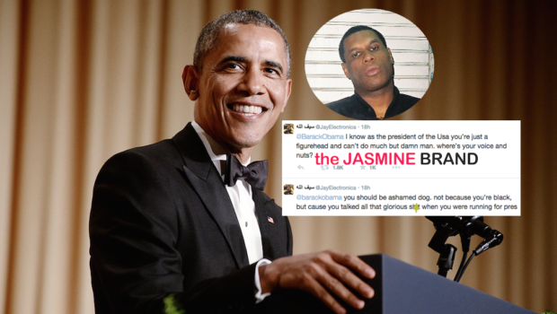 Jay Electronica Criticizes President Obama: Where are your balls?!