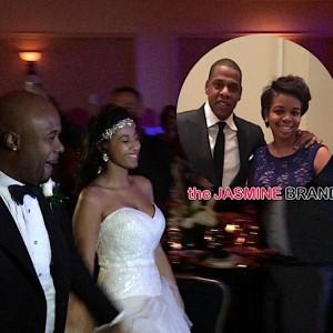Jay Z-Attends Memphis Bleek Wedding-the jasmine brand