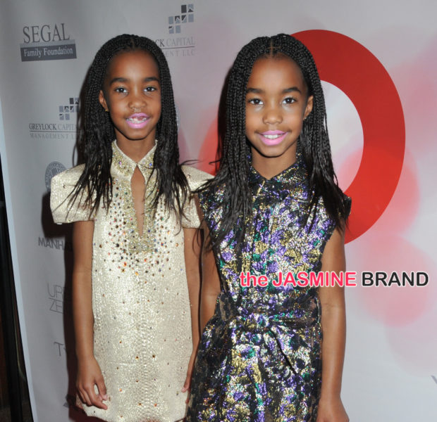 Diddy's Daughters Jessie & D'Lila Combs Attend 'United Against Ebola Benefit' + Kim Porter, June Ambrose [Photos]