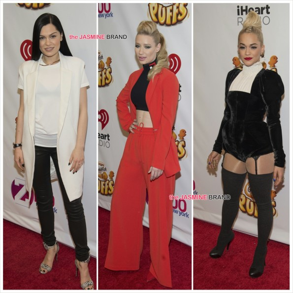 Jessie J-Iggy Azalea-Rita Ora-z100-the jasmine brand