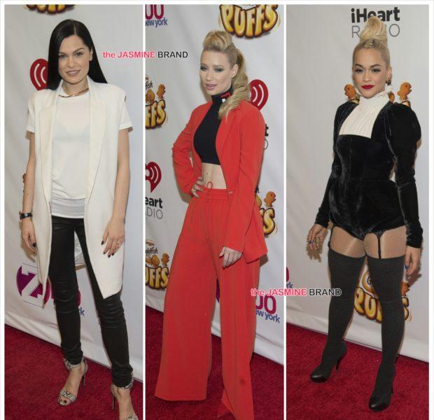 Rita Ora, Pharrell, Iggy Azalea, Jessie J Hit z100's Jingle Ball [Photos]