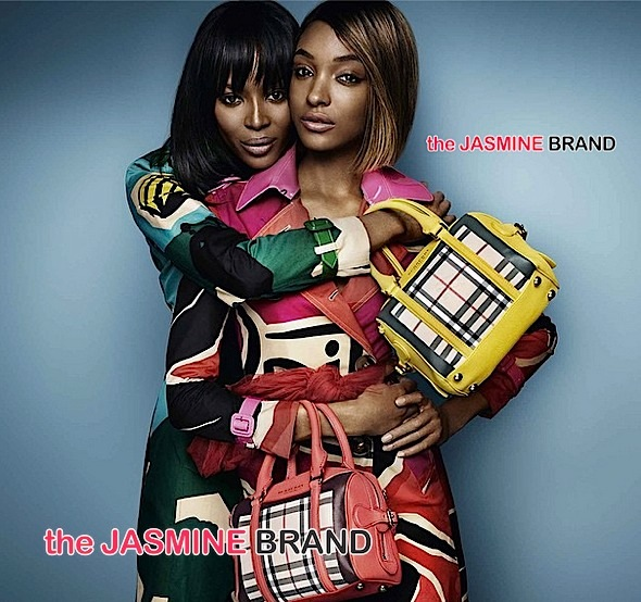 Jourdan Dunn-Naomi Campbell-Burberry Campaign-the jasmine brand