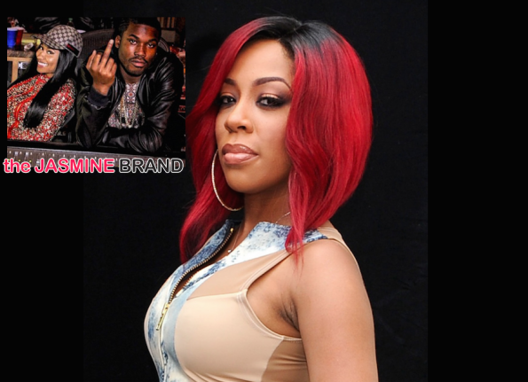 K.Michelle-Reacts Stolen Album Artwork-Beef With Nicki Minaj-Meek Mill-the jasmine brand