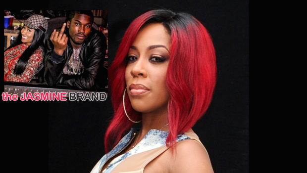 K.Michelle Talks Stolen Artwork, Denies Beefing With Nicki Minaj & Meek Mill Over Music [VIDEO]
