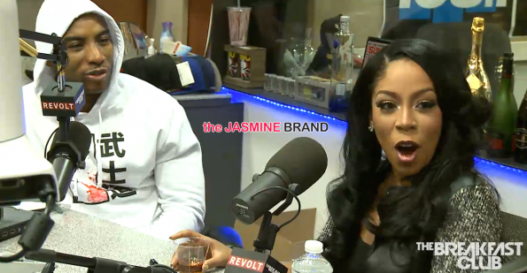 K.Michelle-Talks Idris Elba-the jasmine brand