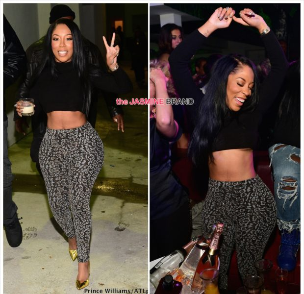 Spotted. Stalked. Scene. K.Michelle Hosts Album Release Party [Photos]