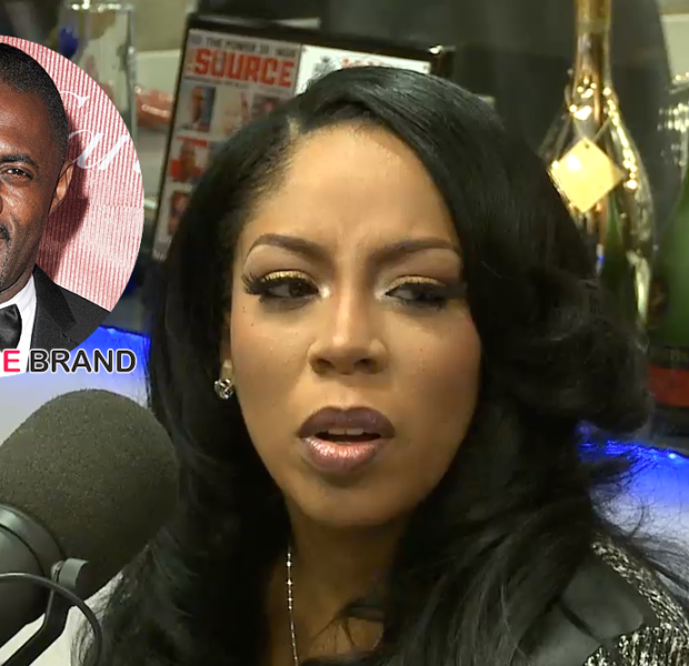 K.Michelle Fesses Up About Relationship With Idris Elba: We were together for 8 months. [VIDEO]
