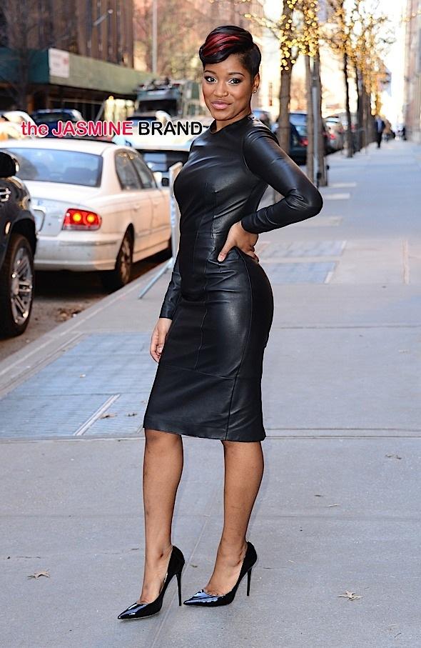 Keke Palmer turns New York street into a runway