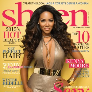 Kenya Moore Sheen Cover-the jasmine brand