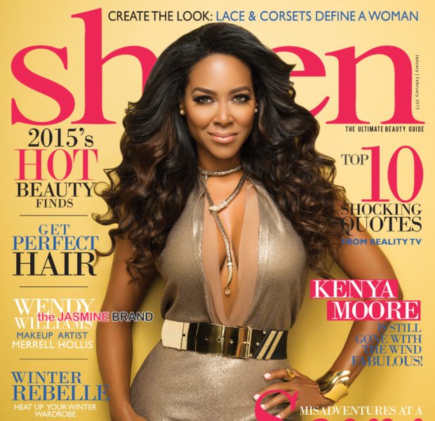 Kenya Moore Takes Over Sheen's Reality Issue [Photos]