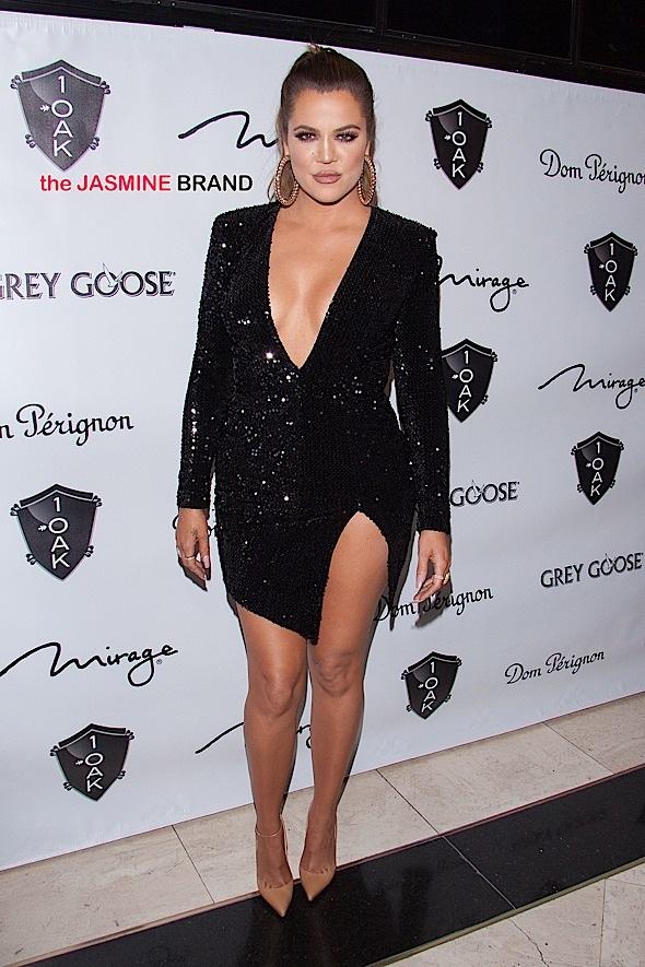 Khloe Kardashian host a New Year's Celebration at 1 OAK Nightclub in Las Vegas
