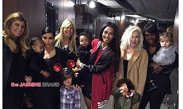 Play-Date-Funners! Kim Kardashian & Ciara Bring Kiddies To 'Disney On Ice'