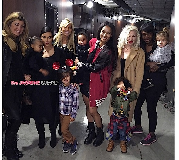 Kim Kardashian-Baby North West-Ciara-Disney on Ice-the jasmine brand