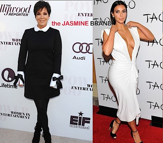 Kim Kardashian Chastises Kris Jenner: I love you mom, but I hate your fashion!