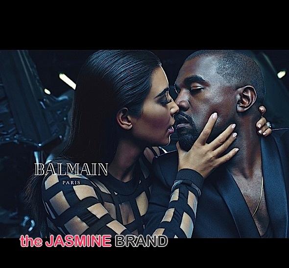 Kim Kardashian-Kanye West-Balmain campaign-the jasmine brand
