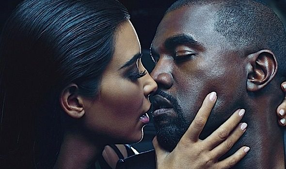 Kim Kardashian & Kanye West Are The New Faces of Balmain [Photos]