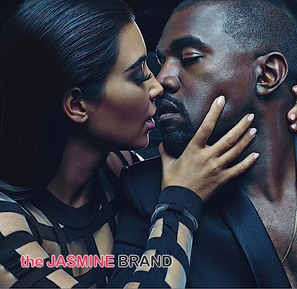 Kim Kardashian & Kanye West Are The New Faces of Balmain [Photos]