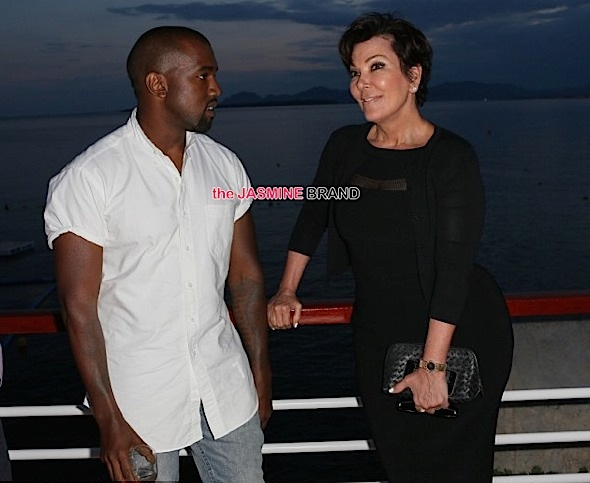 (EXCLUSIVE) Kris Jenner Served With Kanye West's Lawsuit!