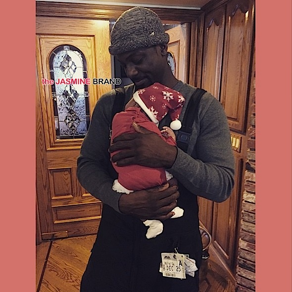 Lance Gross-Celebrities Christmas-the jasmine brand