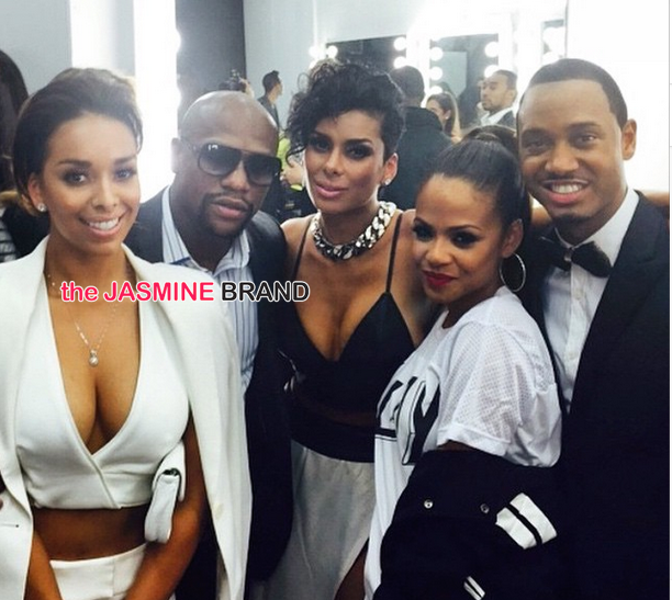 Christina Milian, Terrell Owens, Gloria Govan, Floyd Mayweather Spotted At Runway Wonderland Children's Benefit Fashion Show [Photos]