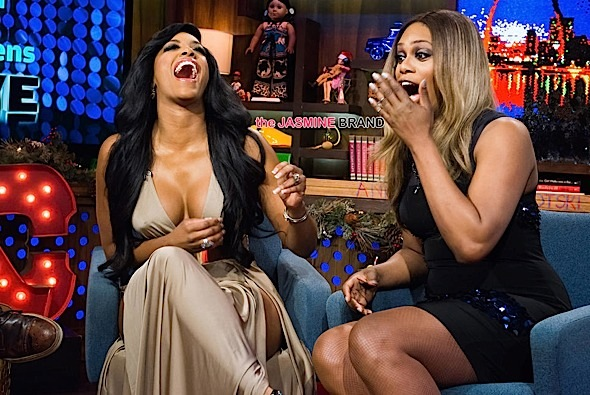 Porsha Williams, Laverne Cox