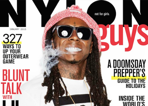 "Lil Wayne: ""I need weed to create"" + See Tunchi's NYLON Cover"