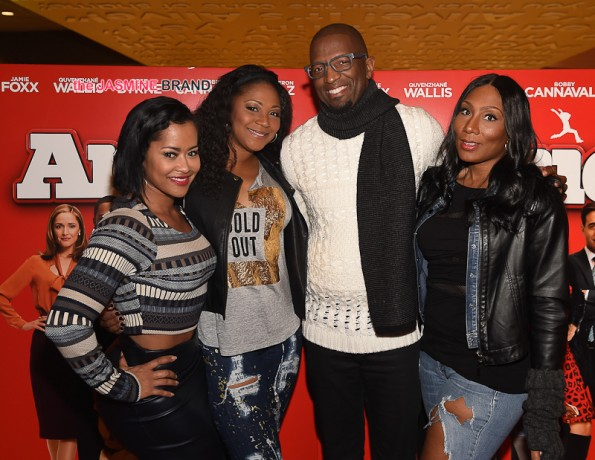 Lisa Wu, Trina Braxton, Rickey Smiley and Towanda Braxton
